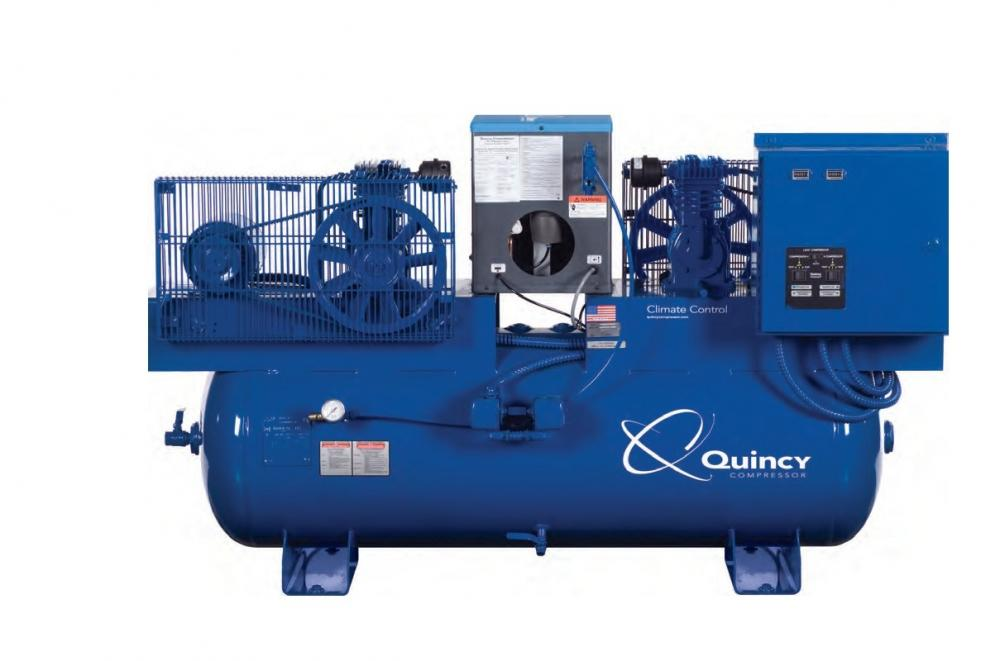 Quincy Climate Control Series | 0.5 hp - 15 hp